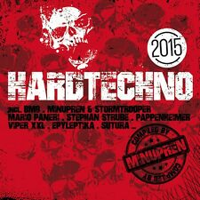 CD Hardtechno 2015 von Various Artists 2CDs