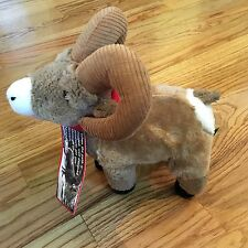 Bighorn Big Horn Sheep Plush Stuffed Animal Toy - New  12""