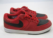 Nike PAUL RODRIGUEZ 7 (GS)-  599657-601- .RED/BLACK size  5