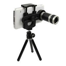 Universal 8x Zoom Optical Camera Lens Telescope + Mount Holder For HTC ONE LG