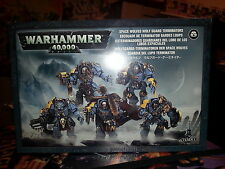 Warhammer 40K Space Lobos Wolf Guard Terminators-Nuevo y Sellado
