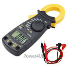 Digital Electronic AC Current Clamp Meter Multimeter Volt Tester Lead Tool Uk