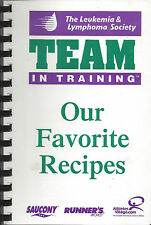 *CHARLOTTE NC 2000 LEUKEMIA & LYMPHOMA SOCIETY COOK BOOK *OUR FAVORITE RECIPES