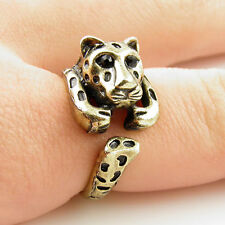 Animal Wrap Ring Gold Leopard Adjustable Size 7 Ring