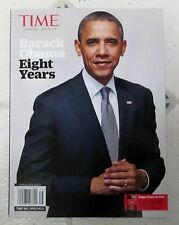 Time Specials BARACK OBAMA Eight Years SPECIAL EDITION 96 Pages The OVAL OFFICE