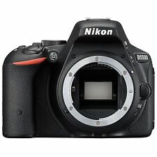 Nikon D5500 Body Black DSLR 24.2 MP Digital Camera Full HD D-5500 ~ Brand NEW