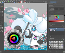 Art suite illustrator vfx logiciel photoshop CS6 compatible open psd d'adobe