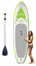 New Solstice Tonga 35132 Inflatable Stand-Up Light Weight Paddleboard w/ Pa