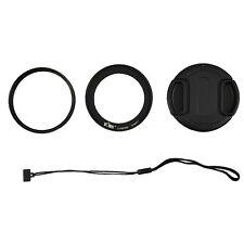 UV Filter+Lens Adapter Ring Cap Set fr Nikon Coolpix P600 P610s P610 B700 Camera