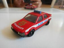 Corgi Saab 9000 Brandweer in red