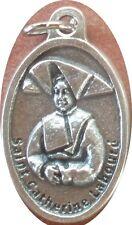 Saint St. Catherine Laboure Medal + Struck Miraculous Medal + Pigeon Fanciers