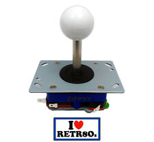 Arcade Joystick Zippyy Seimitsu clon Jamma PCB White Blanco long shaft 78mm