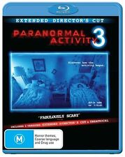 Paranormal Activity 3 (Extended Director's Cut) : NEW Blu-Ray