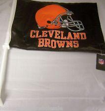 1 Cleveland Browns NFL Car Flag