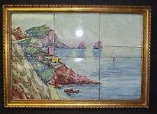 Tile Mural Italian Seascape Village Picture