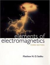 Elements of Electromagnetics (Oxford Series in Electrical and Computer Engineeri