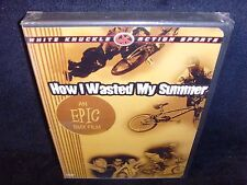How I Wasted My Summer (DVD, 2004) Brand New and Sealed!•BMX Bike Documentary!