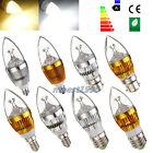 E27 E14 E12 B22 Dimmable 3W 6W 9W High Power LED Chandelier Candle Light Bulb