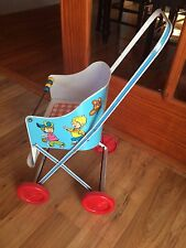 Vintage Ohio Art Tin Metal Litho Doll Stroller