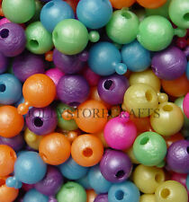 Pop Snap It Novelty Beads 12mm 144pc Multi Pearl Colors