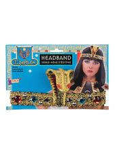 CLEOPATRA EGYPTIAN COBRA SNAKE HEADBAND FOR FANCY DRESS PARTY ACCESSORY