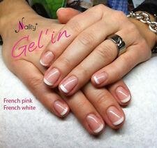Vernis Semi Permanent NAILITY UV/LED/CCFL FRENCH WHITE blanc 15ml Gel Polish USA