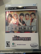 NEW Disney Sing It Pop Hits for Sony PlayStation 3/ PS3 with Microphone