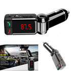 Wireless Bluetooth Handsfree LCD Car Kit MP3 FM Transmitter USB SD MMC Charger A