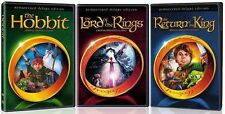 The Lord of the Rings/The Hobbit/The Return of the King (DVD, 2014)