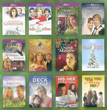 12 Christmas holiday movies, new DVDs Lifetime channel 2005-2008, over 16 hours