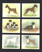 CIGARETTE/TRADE/CARDS. Imperial. Dogs. BOXERS. (1999). (Set of 6)
