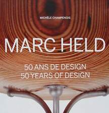 LIVRE NEUF : MARC HELD 50 ANS DE DESIGN (50 years of design)