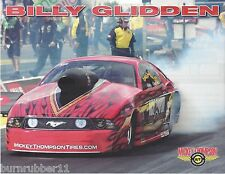 "2015 BILLY GLIDDEN ""MICKEY THOMPSON TIRE"" NHRA PRO MOD MUSTANG HANDOUT/POSTCARD"