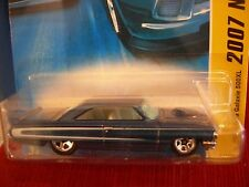 Hot Wheels 1964 Ford Galaxie 500XL 2007 New models Blue