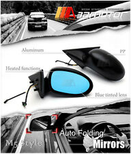 M5 Style Auto Folding Electric Heating Side Mirrors for BMW E46 Pre-LCI Sedan 4d
