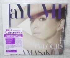 J-pop Ayumi Hamasaki Colours 2014 Taiwan CD+DVD