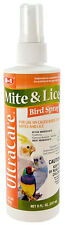8-In-1 Pet Products Ultracare Mite & Lice Caged Bird Spray - 8 Fl. Oz./237 ml