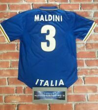 Mega rare! MALDINI  Italy Home football shirt Xl 1996 1998 NIKE vintage 96 98