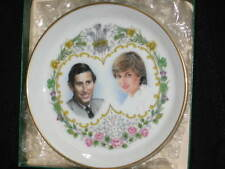 PRINCESS OF WALES DIANA DI PRINCE CHARLES WEDDING CHINA COASTER NEW STILL IN BOX