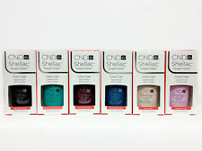 SHELLAC UV GEL- CND -Pick ANY Color/ Base/ Xpress5 Top 7.3ml/.25oz - SET OF 6