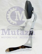 Mutazu CNC Billet Sissy bar Passenger Backrest for Suzuki Boulevard M109R 06-15