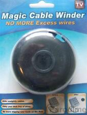5 x Magic Cable Winder Tidy Excess Wires Cables Leads Hide TV Telephone PC