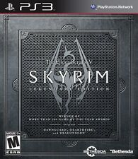 The Elder Scrolls V: Skyrim - Legendary Edition - Playstation 3 Game