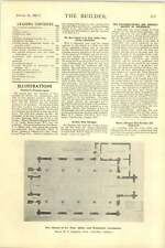 1927 Ground Floor Plan Flats 49 50 Grosvenor Square St Paul Ashby Scunthorpe