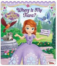 Disney Sofia the First: Where Is My Tiara? Open Door Book