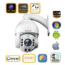 20X Zoom HD 1080P 2.0MP Outdoor SONY CMOS PTZ IP Speed Dome Camera 150M IR Audio