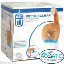 Catit Genuine Fresh & Clear water Drinking Fountain Station 2L for Dogs and Cats