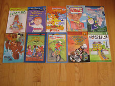Lot of 10 Children's Books Level 2  Early Readers  Couduroy, Cam Jansen, CareBea