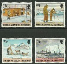 Album Treasures Br Antarctic Terr Scott # 214-217 Operation Taberin Mint NH