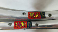 MAVIC Speciale Sport road bike tubular rim pair, 32H NOS, 700c